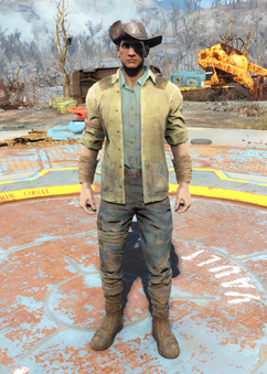 Fo4Minutemen Outfit