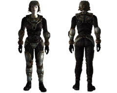 Lightweight metal armor female