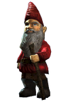 Fo4FH garden gnome red