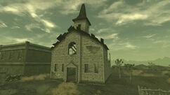 Camp Searchlight church