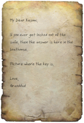 FO4 Grandfathers Note Image