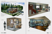 Art of Fo4 Survivor home concept art