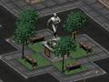 FO2 Vault Dweller statue.png