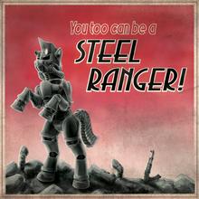 Steel Rangers Recruitment Poster by Droakir