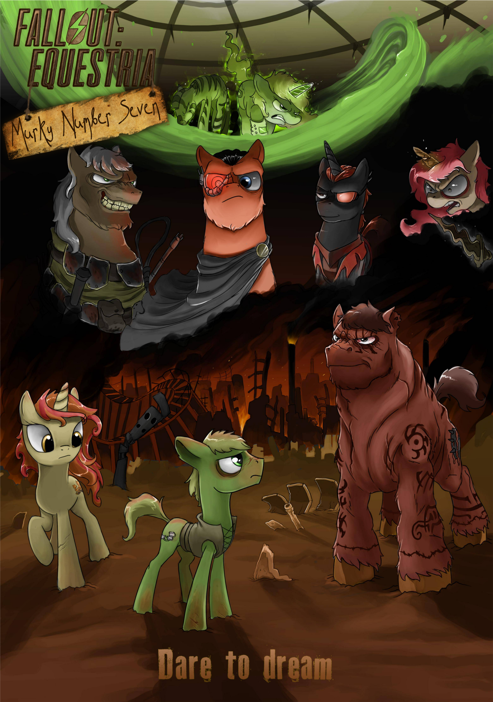Fallout Equestria Murky Number Seven Fallout