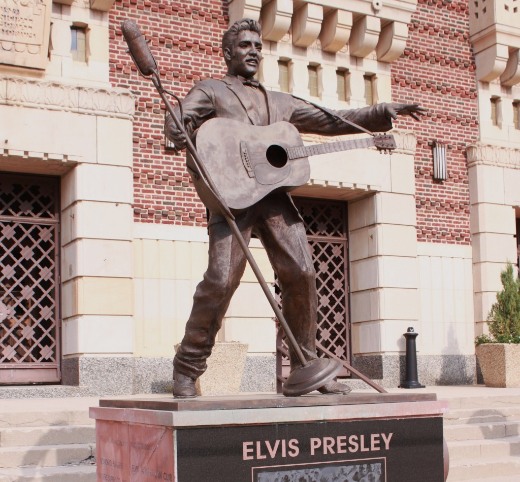 Image result for Elvis Presley, statue