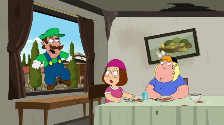 Mario Family Guy Nintendo s mascot Mario