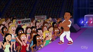 Usher sing