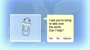Clippy in Family Guy