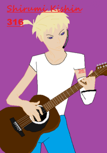 Zeedude Shirumi Kishin-guitar