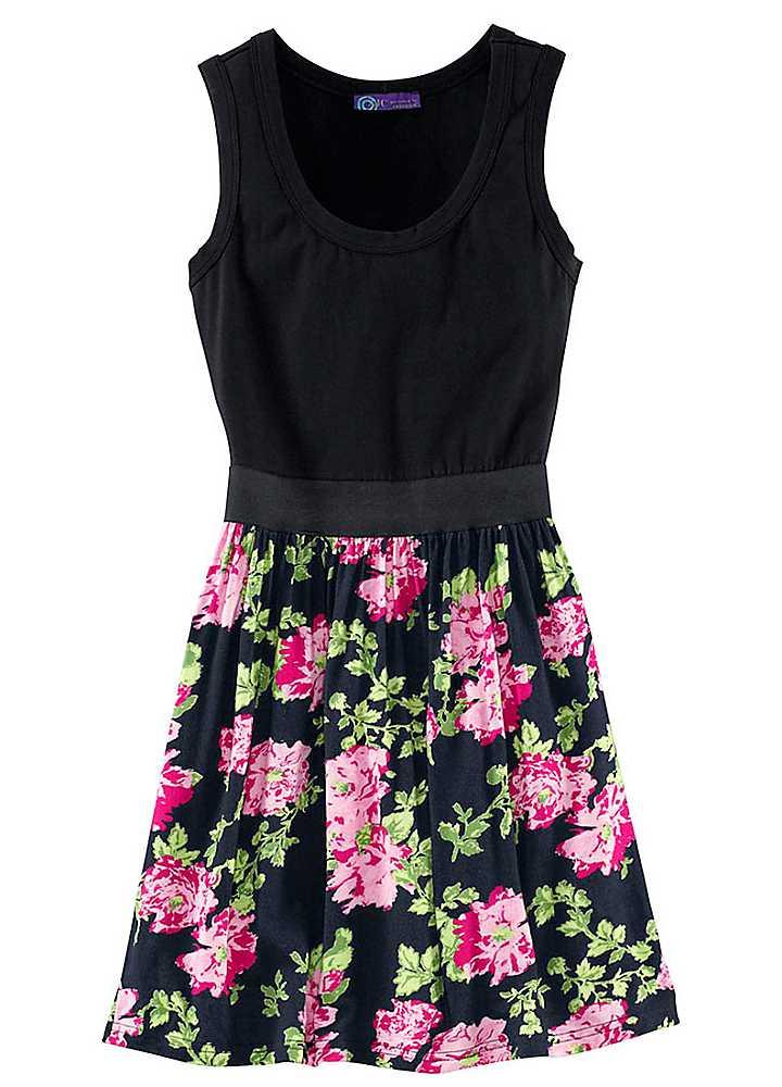 Black Floral Dress XBRkpkpZ