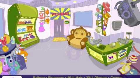 Fantage new year's bash shopping 2011 mini game part 1