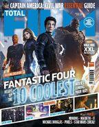Fantastic Four Total Film cover