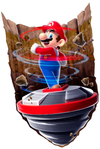File:Drill Mario SMG2 art.png