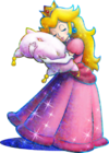 Princess Peach Artwork - Mario & Luigi Dream Team