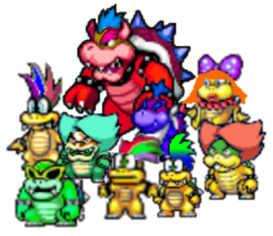 File:Anti-bowser and the anti-koopalings.png