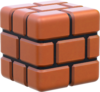 Brick Block Artwork - Super Mario 3D World