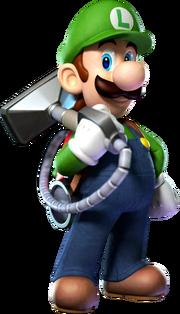 Luigi SSB Millennium
