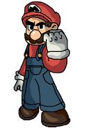 SSBM! Artwork - Mario