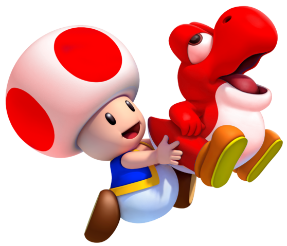 File:Toad and Fire Baby Yoshi.png