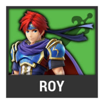 ACL -- Super Smash Bros. Switch character box - Roy