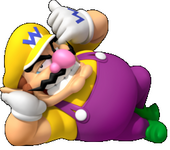 Wario the Purple Wind