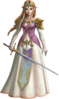TPHD Princess Zelda Artwork