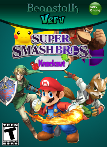 SuperSmashBrosKnockout boxart