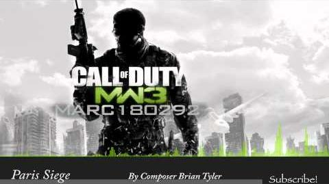 MW3 Soundtrack Paris Siege