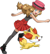 Serena XY anime old (6)