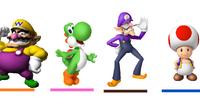 Mario Party Colors