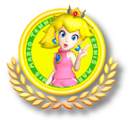 Peach Tennis Icon