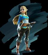 BotW Zelda Artwork