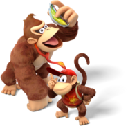 Donkey Kong and Diddy Kong - Donkey Kong Country Tropical Freeze