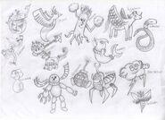 Pokémon Drawings 1