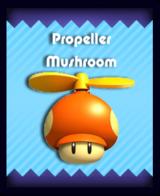 Super Mario & the Ludu Tree - Powerup Propeller Mushroom