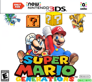Super Mario Generations New 3DS Cover Art