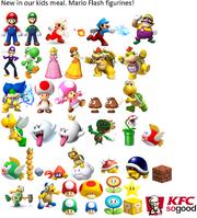 KFC figurines
