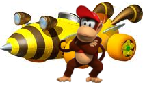 File:Diddy Kong Artwork.png