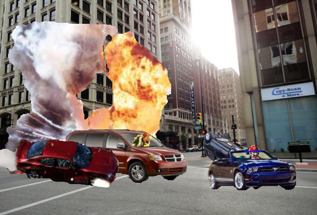 File:Mario Kart Hot Pursuit Gameplay.png