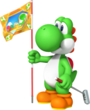 Yoshi Artwork - Mario Golf World Tour