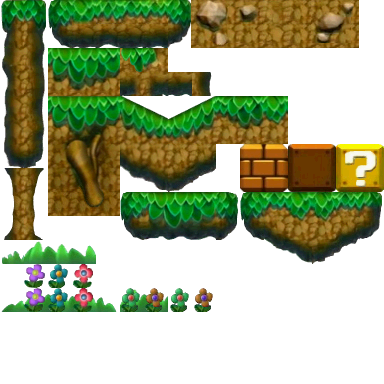 File:NSMBU Forest Tiles.png