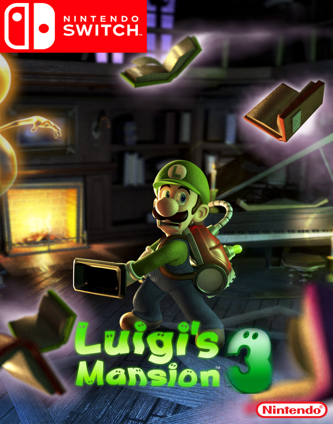 Luigi S Mansion 3 Nintendo Switch Fantendo Nintendo