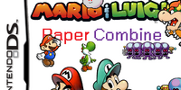 Mario and Luigi: Paper Combine