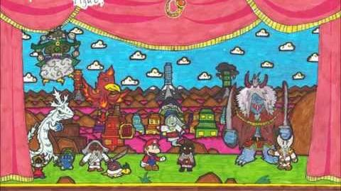 Paper Mario Fangame Music - City of Blossoms! Hana Koshi!