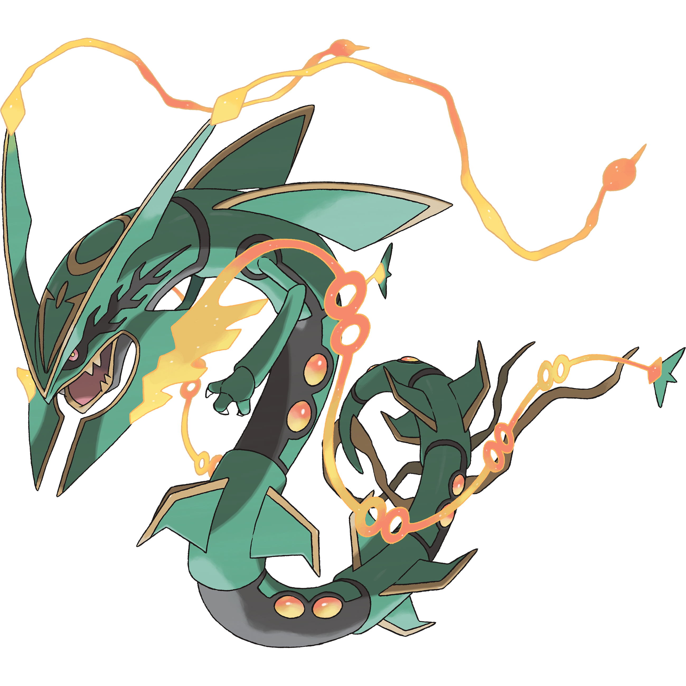 Photos bild galeria pokemon mega rayquaza coloring pages - Mega evoulution ...