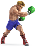 Little mac alternate costumes for new smash by daeron red fire-d76gr94
