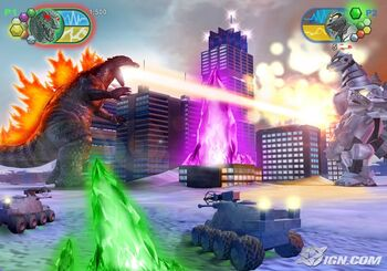 Gameplay Gojira