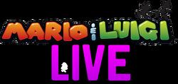 Mario & Luigi LIVE Logo