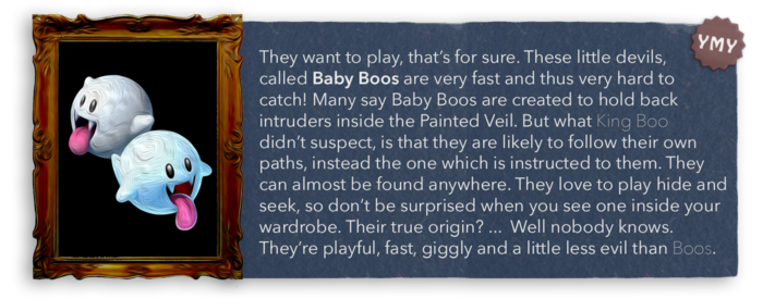 LM3 Enemy Info - Baby Boos